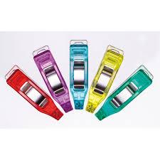 Clover Mini Wonder Clips 50 st Blandade Färger