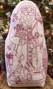 Mönster Santa Claus