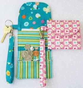 Plånbok och Nyckelband