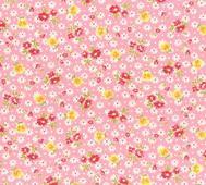Lecien Blommor på Rosa