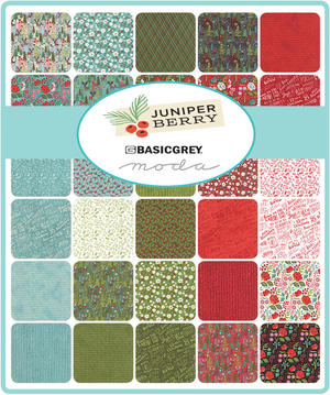 Juniper Berry Charm Pack 5""