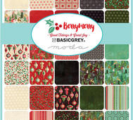 Berry Merry Charm Pack 5""