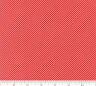 Moda Diagonal Stripe Röd