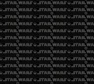 Star Wars Logo Svart