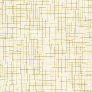 Kaufman Quilters Linen Ivory m Guld