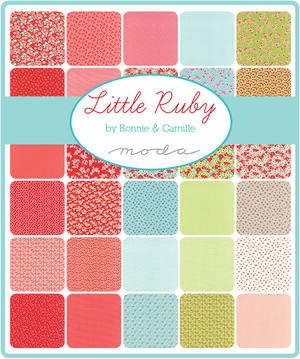 "Moda Little Ruby Charm Pack 5"""