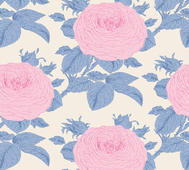 Tilda Sunkiss Grandmas Rose Blue
