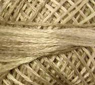 Handfärgat Garn Antikcreme