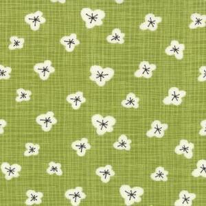 Moda Grön med Blommor