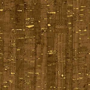 Cork Fabric Choklad