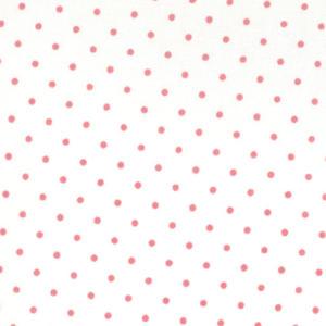 Moda Essential Dots Vit/Peony