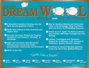 Quilters Dream Ull  236 x 243 cm