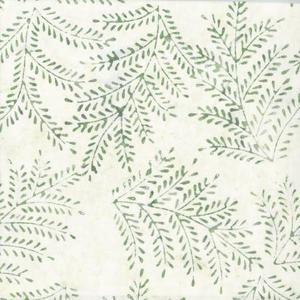 Batik Ljusgrön m Blad