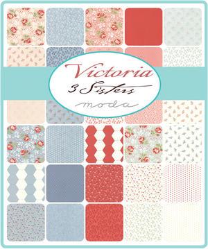 "Victoria  Charm Pack 5"""