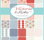 Victoria  Charm Pack 5""
