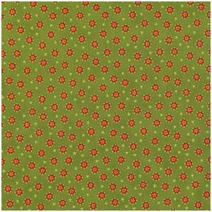 Grönt med Röda Stjärnor