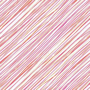 Diagonal Stripe Persimmon