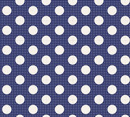 Tilda Medium Dot Night Blue