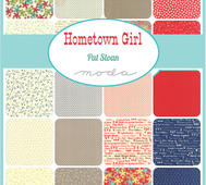 Moda Hometown Girl Charm Pack 5""