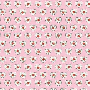 Little Dolly Rosa m Hjärtan