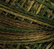 Handfärgat Garn Olivgrön