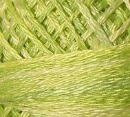 Handfärgat Garn Mjuk Lime