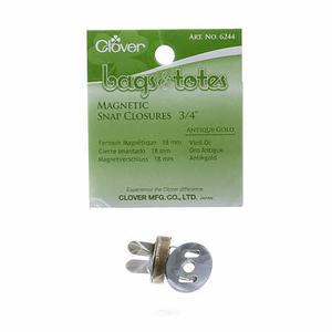 Clover Magnetlås  Antikguld  3/4 inch