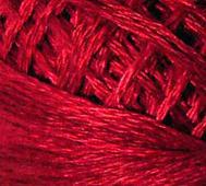 Handfärgat Garn Röd