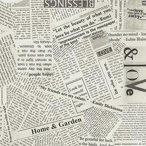 Baksidestyg Newspaper 275 cm