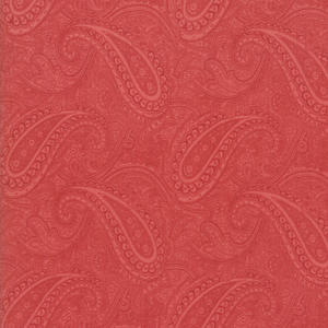 Porcelain Tygpaket 50 cm Röd