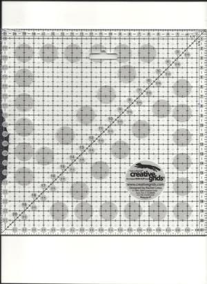 Linjal Creative Grids 21,5 x 21,5 Centimeter