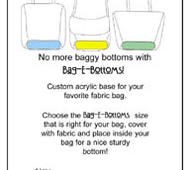 Bag-E-Bottom Storlek A