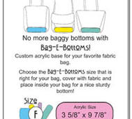Bag-E-Bottom Storlek F
